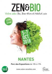 Affiche Salon ZEN & BIO Nantes