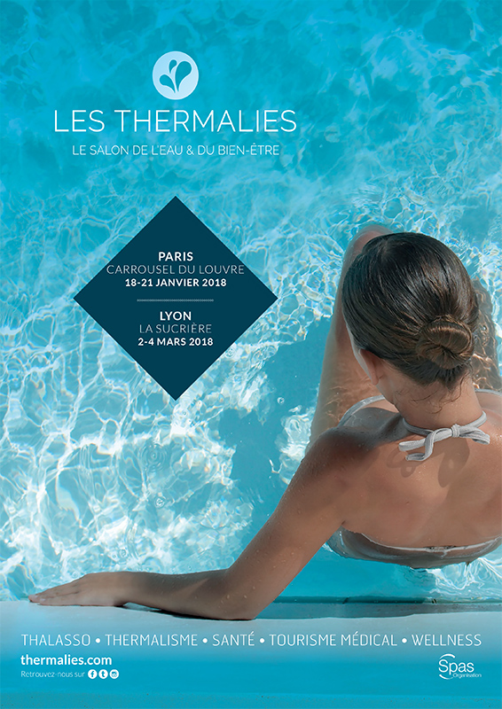 Affiche les Thermalies Paris & Lyon