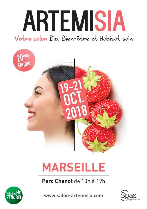 Affiche salon Artemisia Marseille