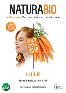Affiche salon NATURABIO Lille