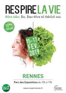 Affiche Respire la Vie Rennes