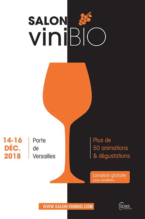 Affiche salon Vinibio 2018