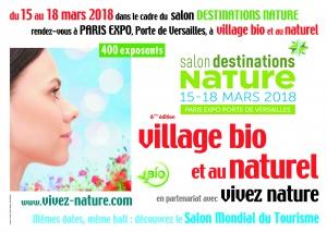 Salon Village Bio et au Naturel Paris