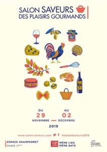 Affiche salon SAVEURS des Plaisirs Gourmands