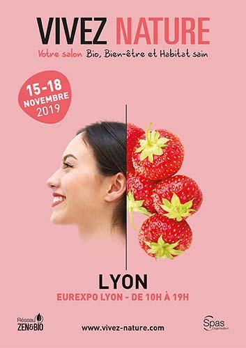 Affiche salon VIVEZ NATURE Lyon