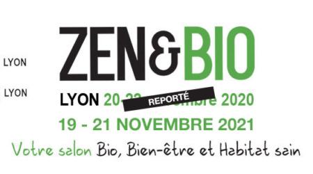 Le salon Zen & Bio Lyon 2020 est reporté – Rendez-vous du 19 au 21 novembre 2021