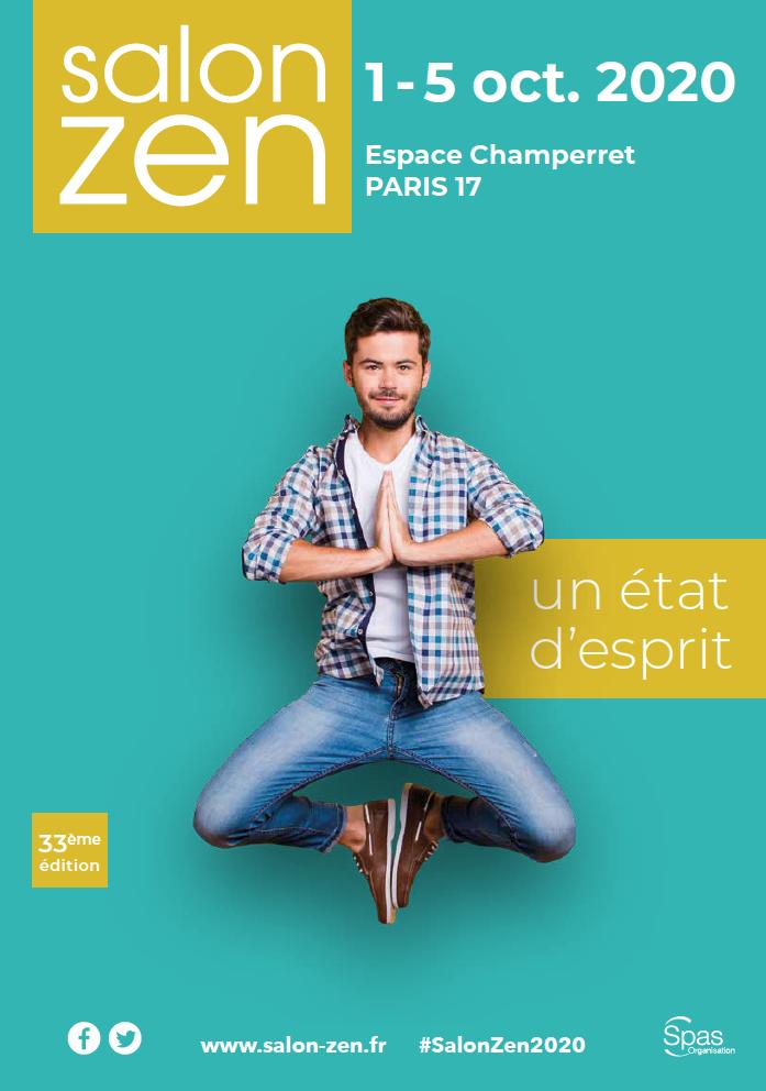 Affiche du salon Zen 2020 pour visiteurs